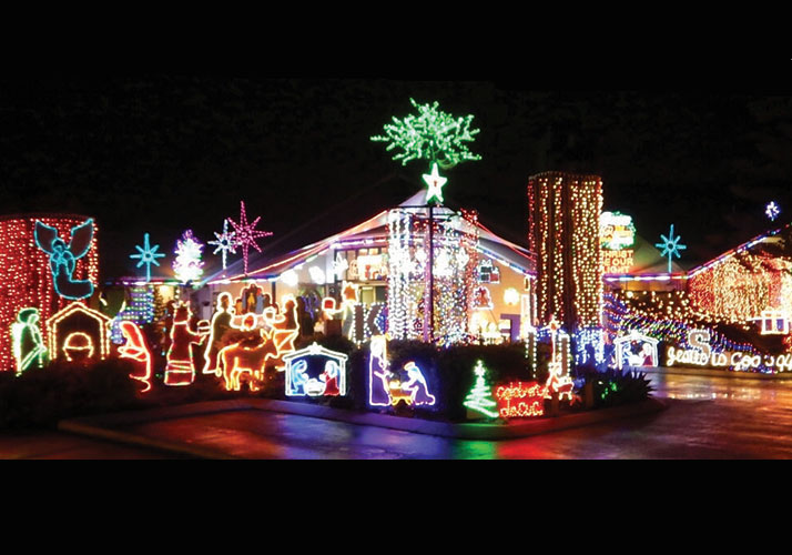 Christmas Lights.Sandgate Christmas Lights